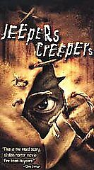 Jeepers Creepers (VHS, 2002) GINA PHILIPS,JUSTIN LONG RATED R