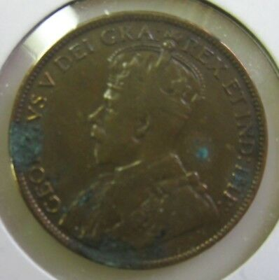 1917 Canada Large Penny-Nice Coin