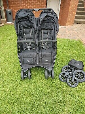Valco Snap Duo Double Stroller - Black Beauty