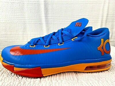 "NEW Youth Nike KD VI /""Photo Blue/"" GS 599477-401 Durant 6 OKC Orange Thunder"