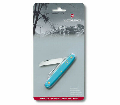 Victorinox Swiss Pocket Knife Ecoline Floral Blue 95Mm 3.9050.25B1