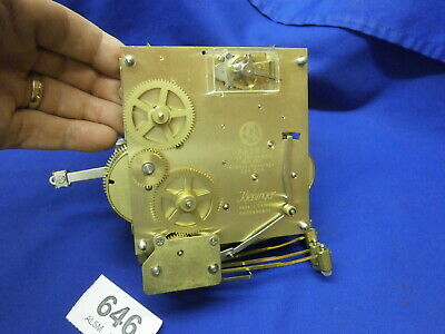 Clock MOVEMENT Kieninger AELO01 Platform escapement 354 578 Westminster chime