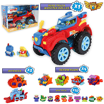 SuperZings Series 5 - Hero Truck Monster Roller and Surprise Pack with 16 Sets |