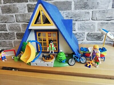 Playmobil 3230 Vintage Vacation Holiday Chalet House