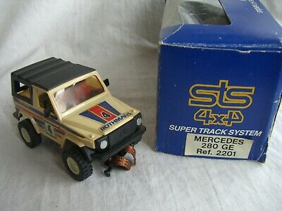"Scalextric Exin STS 4x4 ref.2201 Mercedes 280  ""Rothmans"" Nº4"
