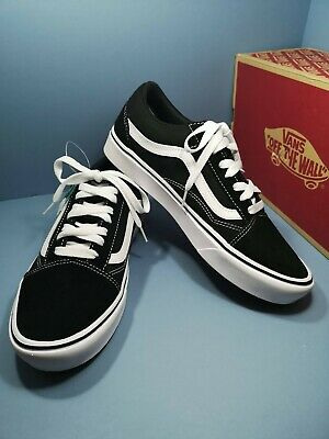 Mens Vans Comfycush Old Skool  Classic Black  size uk 8 eur 42 new