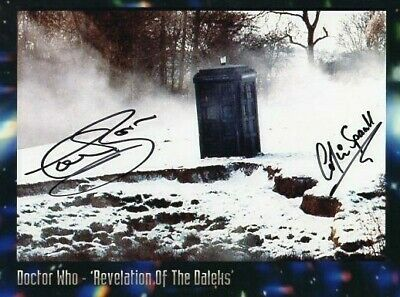 Doctor Who Autograph: COLIN SPAULL & TREVOR COOPER  (Rev) Signed Photo SALE