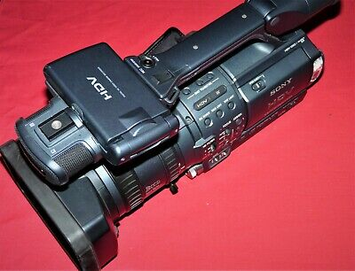 SONY HANDYCAM HDR-FX1E FX1 With hard case