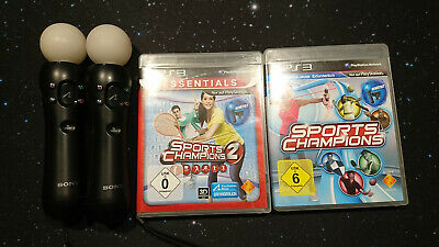 Sony PlayStation Move Controller + PS Eye + Sports Champions 1 + 2 PS3 + PS4 VR