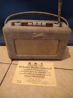 Limited Edition Roberts Revival Suede Radio 70th Anniversary