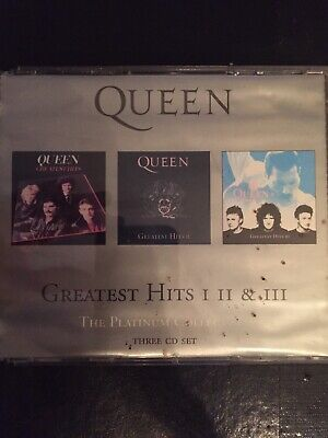 Queen Platinum Collection Digitally Remastered Used 51 Track Greatest Hits Cd