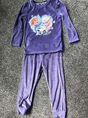 Frozen Girls Soft Pyjamas Disney 3-4 Years Old Removable Cape