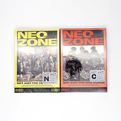 [NCT127] 2nd Album / NCT #127 Neo Zone (N/C ver.) / New, Sealed