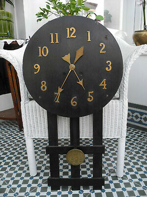 Antique Arts & Crafts Clock - Original - needs attention