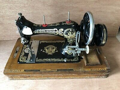 Vintage Frister & Rossman Model 50 Hand Cranked Sewing Machine
