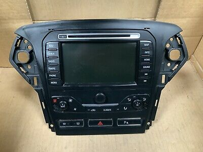 Ford Mondeo Sat Nav / Stereo Radio / Cd Player  Bs7T-18K931-Eg With Code 2013