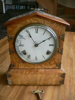 Ansonia Mantle Clock Ansonia Clock Co New York 1882 In Working Order