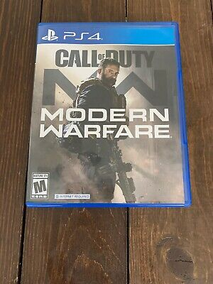 Call of Duty Modern Warfare PS4 Excellent condition ***FREE SHIPPING!!***