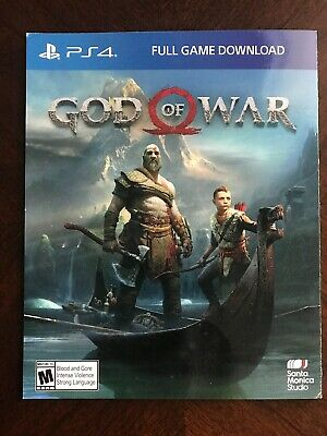 God Of War * Ps4 Game Digital Download * Key * Usa *Same Day Email/Text Delivery