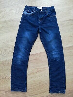 Boys Dark Blue Jeans By Matalan Age 13
