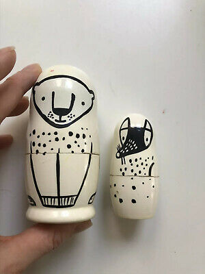 Wee Gallery Russian Doll Wooden Kids
