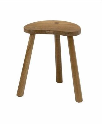 ROBERT THOMPSON Mouseman Beautiful Carved Oak Milking Stool  - Large/Tall.