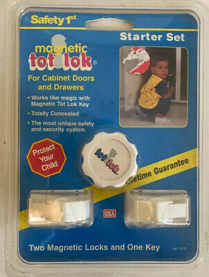 Magnetic Tot Lok Starter Set For Cabinet Doors and Drawers