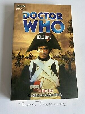 Doctor Who World Game Paperback Book BBC Books Terrance Dicks