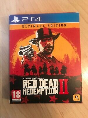 Red Dead Redemption 2 - Ultimate Edition Steelbook Playstation 4