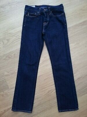 "Boys Dark Blue Jeans By Abercrombie & Fitch Waist 26"" Length 30"""