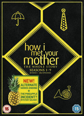 How I Met Your Mother The Whole Story Seasons 1-9 Dvd Box Set 28 Disc Series New