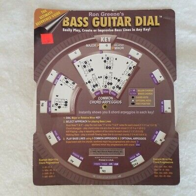 Vintage  Ron Greene's Bass Guitar Dial The Ultimate Reference Guide