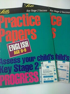 KS2 English And Maths Practice Papers Books age 8_9