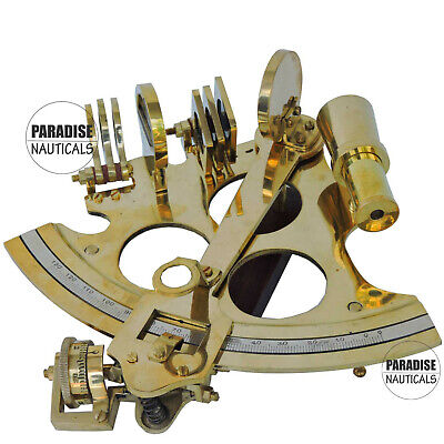 Sextant Brass Nautical Astrolabe 6 inches