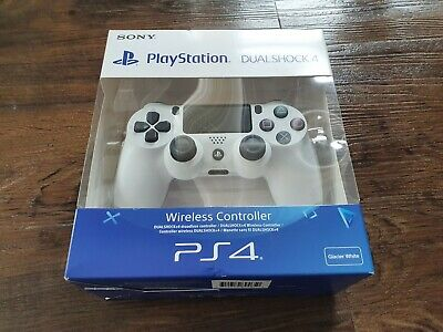 New PlayStation Dualshock 4  Wireless Controller - Glacier White (PS4) BRAND NEW