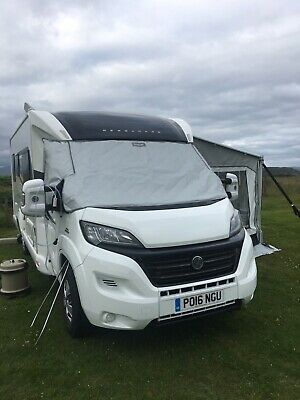 FIAT DUCATO 2006 - 2019 Motorhome Exterior Windscreen Thermal Cover - ISOPLAIR