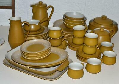 Denby ' Ode ' Tea Set And Tableware - English Stoneware