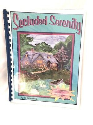 Secluded Serenity by Cindy Losekamp Embroidery Printing on Fabric with CD-Rom