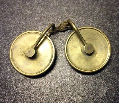 Pair Of Longcase Grandfather Clock Weight Pulleys