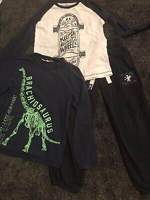 Boys Bundle Age 7 Years Joggers Tops Inc Next