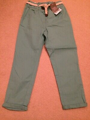 Girls Chino Trousers From Next Age 3-4 Years Bnwt