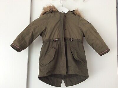 Matalan Age 3 Years Warm winter parka style coat  with hood