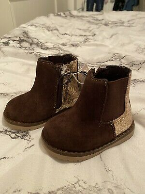 Mothercare Baby Girl Glittery Boots Infant 3 19 Bnwt New Shoes