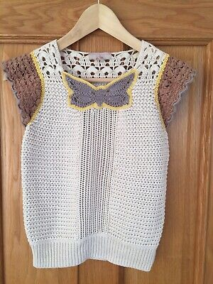 Stella Mccartney For Gap Kids Girls Top Cashmere Mix Age 12 Excellent Condition