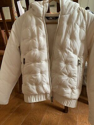 The North Face Girls Mashup Hoodie Vintage White Large 14/16