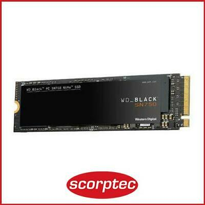 Western Digital WD Black SN750 500GB M.2 NVMe SSD
