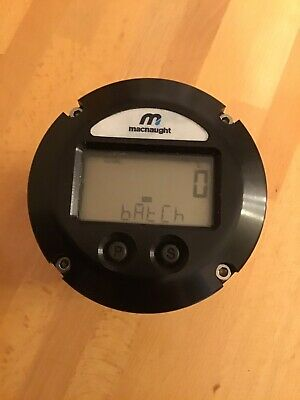 "Macnaught 1"" Digital Display Oval Gear Flowmeter Unused"