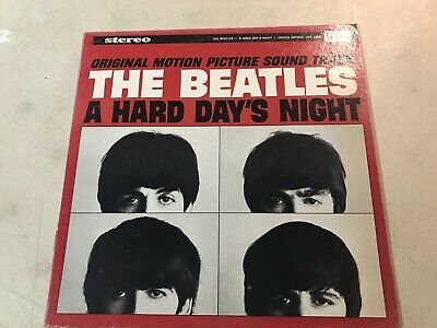 The Beatles Omps A Hard Days Night Vg+/Excellent
