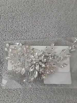 Catery Flower Crystal Bridal Headpiece