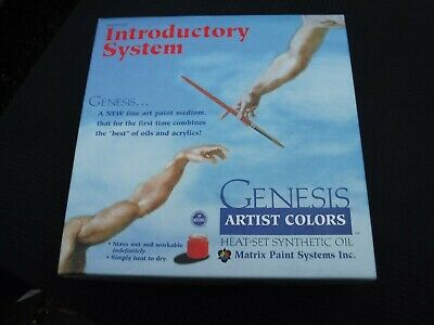 GENESIS Artist Colors Introductory System - Heat-Set Synthetic Oil